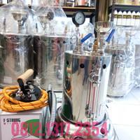 Setrika uap gas Lpg 5 Liter