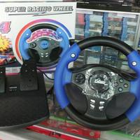 Steering Wheel F4 Super Racing Wheel PS2 / PS3 / PC