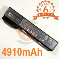 Baterai ORIGINAL HP EliteBook 8460p, 8460w, 8470p CC06 (6 CELL) Black