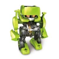 4 in 1 Transforming Solar Robot Kit DIY / Mainan Edukasi Rakit Robot