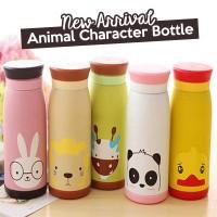 Termos Animal Karakter 500 ml (tumbler, termos botol minum)