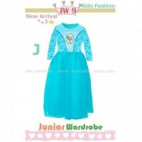 Jual Baju Muslim Anak Perempuan Princess Frozen 3 SD 12 BULAN AGD3661