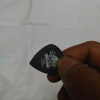 Pick Dunlop Pitchblack 1 14 Jazz iii Tortex Eceran Murah Original