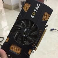 Zotac Nvidia GTX 550 ti AMP 1 Gb 192 bit Ddr5