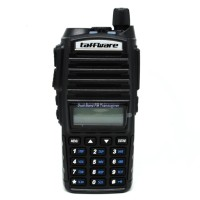 Baofeng Walkie Talkie Dual Band 5W 128CH UHF+VHF - BF-UV82 - Black