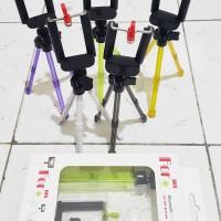 Tripod Mini + Holder U Universal Smartphone Stabilizer Murah Surabaya