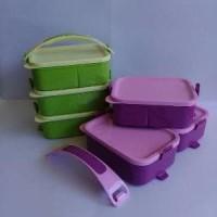 Lunch Box Rantang 3 Susun. Rantang Piknik 3 susun golde Berkualitass