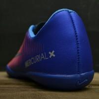Produk Terlaris Sepatu Futsal Nike Mercurial X Victory IV IC Biru