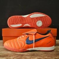 Produk Terlaris Sepatu Futsal Nike Tiempo Natural Orange Biru