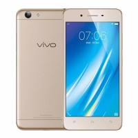 VIVO Y53 RESMI GOLD&BLACK FREE TEMPERED IRING TONGSIS