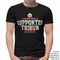 Kaos Bola PERSIJA SUPPORTER TRIBUN BLACK The Jak Mania Macan Kemayora