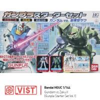 HGUC 1/144 RX-78-2 Gundam vs. Zaku II (Gunpla Starter Set Vol.1)