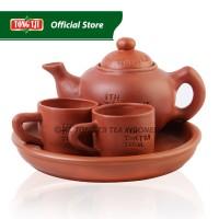 Tong Tji Poci Set Tanah Liat ( Clay pot )