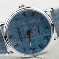 FeiFan M074-1G Denim Theme Fashion Watch (Jam Tangan Mo