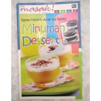 buku Minuman & Dessert resep favorit anak ala resto Gramedia