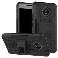 Motorola MOTO E4 Plus Heavy Duty Defender Armor Kick Stand