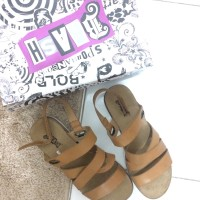 Brash strap sandals by Payless
