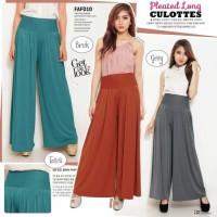 TERBARU DAN TERMURAH Celana Kulot Wanita Bahan Spandex Korea Import