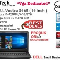 Dell Vostro 3468 ( 14 Inch ) Core i5-7200 VGA Win10SL