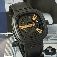 Jam Tangan Seven Friday M2 Series Leather Black
