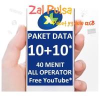 XL XTRA COMBO 12 GB DATA INTERNET, MASA AKTIF PAKET 30 hari.