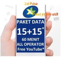 XL XTRA COMBO 18 GB DATA INTERNET, MASA AKTIF PAKET 30 hari.