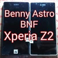 LCD plus TouchScreen plus Bezel Sony Xperia Z2 - D6502 - D6503 Murah