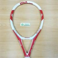 NEW Raket Tenis WILSON 3 0 J TRIAD White RED 118 CARBON FIBER