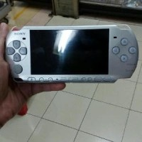 psp slim 3000 silver 16gb full game refurbished Diskon