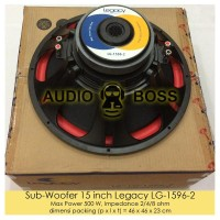 Speaker Subwoofer Sub woofer Sub-woofer 15 inch Legacy LG 1596 Limited