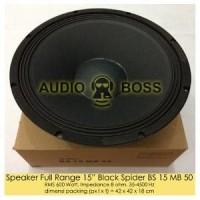 Speaker Full RANGE 15 inch Black Spider BS 15 MB 50 Limited