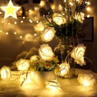 20 Lampu Led Bunga Mawar / Lampu Hias Mawar / Lampu Tumblr Mawar