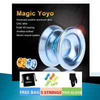 Magic Yoyo T8 original include 5 string pouch and glove