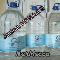 Air Zam Zam 100% Ori 5 Liter Oleh Oleh Haji Umroh Paket souvenir