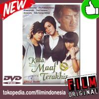 DVD Original Kata Maaf Terakhir (2009)