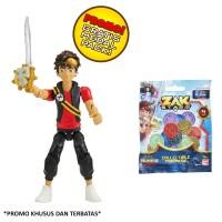 harga Bandai - Zak Storm Figure Zak 3 Inch  Free Treasure Coin Tokopedia.com