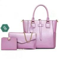 Tas Wanita Terbaru Murah / Tas Import / Tas Batam handbag set 3 in 1