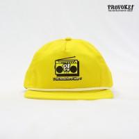 Classic Snapback - Provoke! Boombox - kuning (KCI-CS.BOOM.04)
