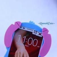 LG G2 - STITCH 3D Cute Case Karakter silicone Casing Lu Murah