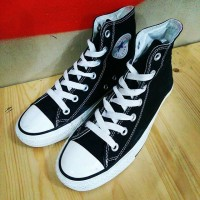 Sepatu Converse CT Hi Top Black Canvas Second Original