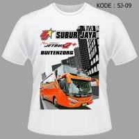Kaos Bis Subur Jaya Pariwisata, Baju, Scania, Bus, Jetbus, Bmc,