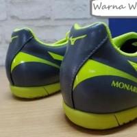 Sepatu Futsal ORIGINAL MIZUNO Monarcida 2 FS IN Grey MFI-03 (SALE)
