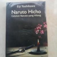 ORIGINAL BEKAS NARUTO HICHO CATATAN NARUTO YANG HILANG BUKU NOVEL
