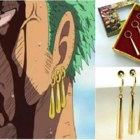 Anting Earring Roronoa Zoro One Piece Anime Cosplay Import