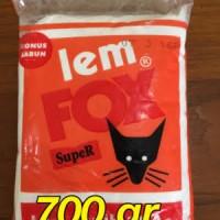 LEM FOX MERAH 700gram / 700 gram glue bahan slime murah grosir