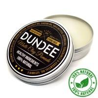 Dundee 100% Natural Hair Matte Clay Wax Pomade.Sehat tanpa bahan kimia