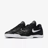 Sepatu Tennis Nike Zoom Cage 3 - Black White Original 85ad0cbe82