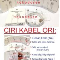 KABEL DATA IPAD IPOD IPHONE 5 5s 6 6s LIGHTNING USB CHARGER CABLE ORI