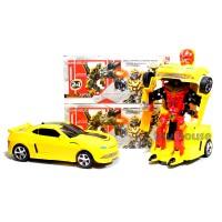 Mainan Mobil 2 in 1 Transformer Bumblebee Bisa Jadi Robot No.0906-35A