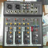 MIXER mini 4 CHANNEL ATL F4 USB mixer audio
